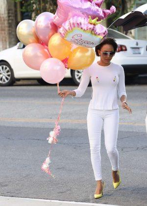 Melanie Brown - Celebrate's her daughter Angel Iris birthday in West Hollywood