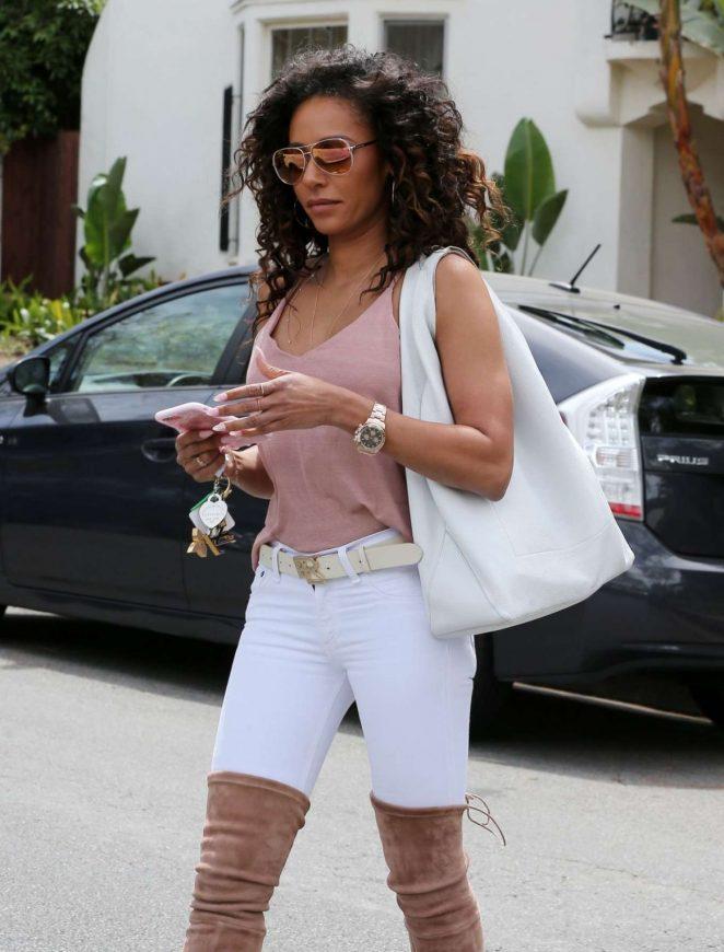 Melanie Brown Out in Los Angeles