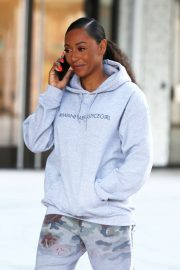 Melanie Brown - Outside ITV Studios in London