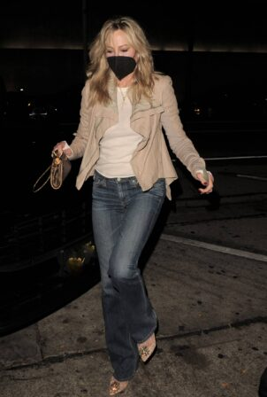 Melanie Griffith - Arriving at Craig's in West Hollywood