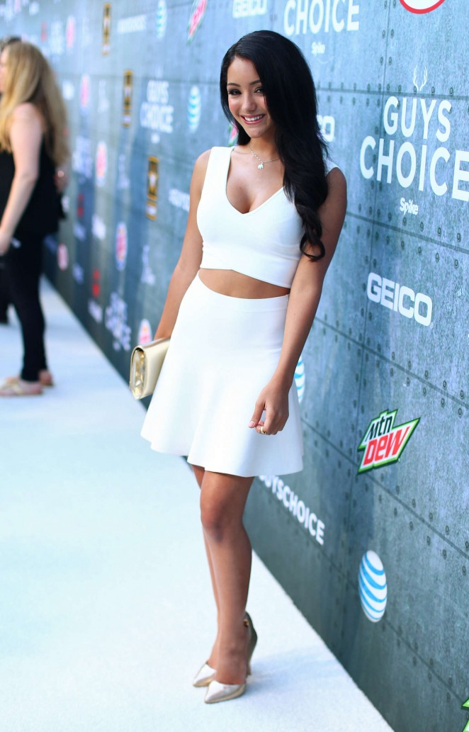 Melanie Iglesias 2015 : Melanie Iglesias: Spike TVs Guys Choice 2015 -11