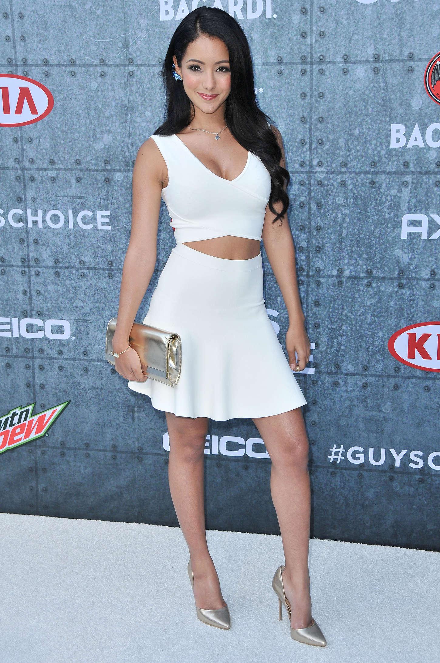 Melanie Iglesias 2015 : Melanie Iglesias: Spike TVs Guys Choice 2015 -13