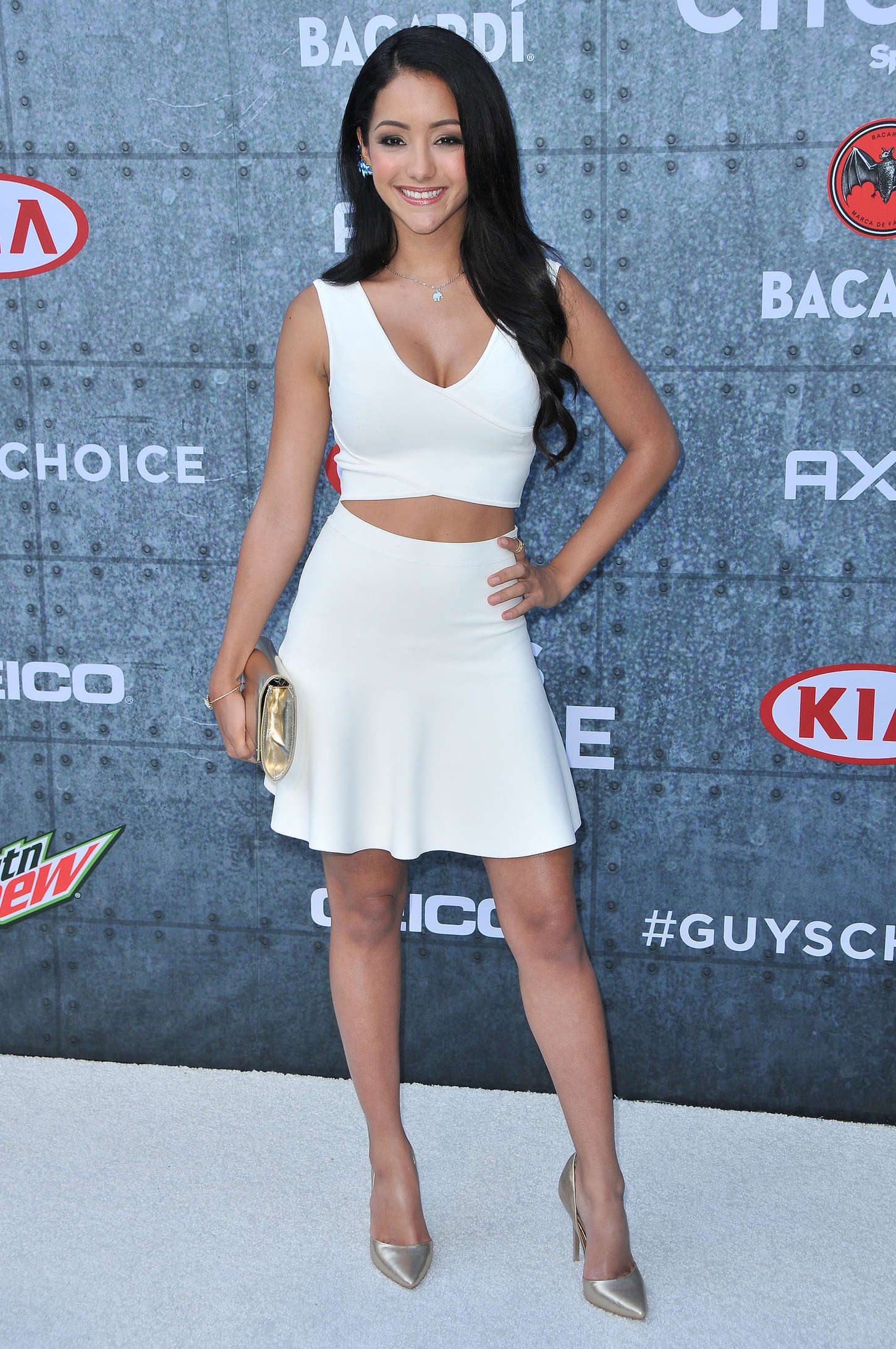 Melanie Iglesias 2015 : Melanie Iglesias: Spike TVs Guys Choice 2015 -14