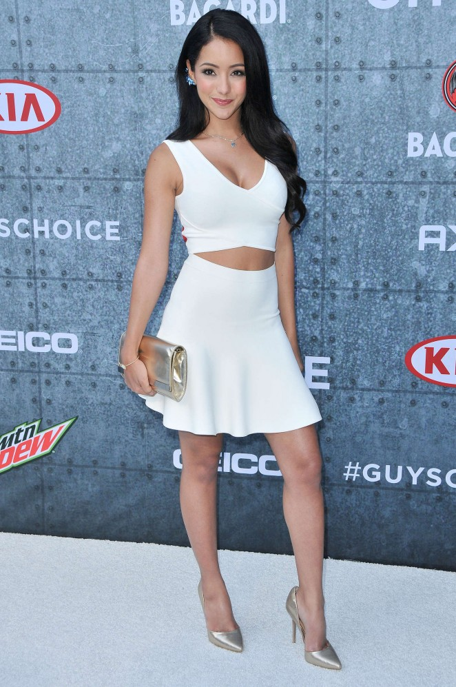 Melanie Iglesias 2015 : Melanie Iglesias: Spike TVs Guys Choice 2015 -20