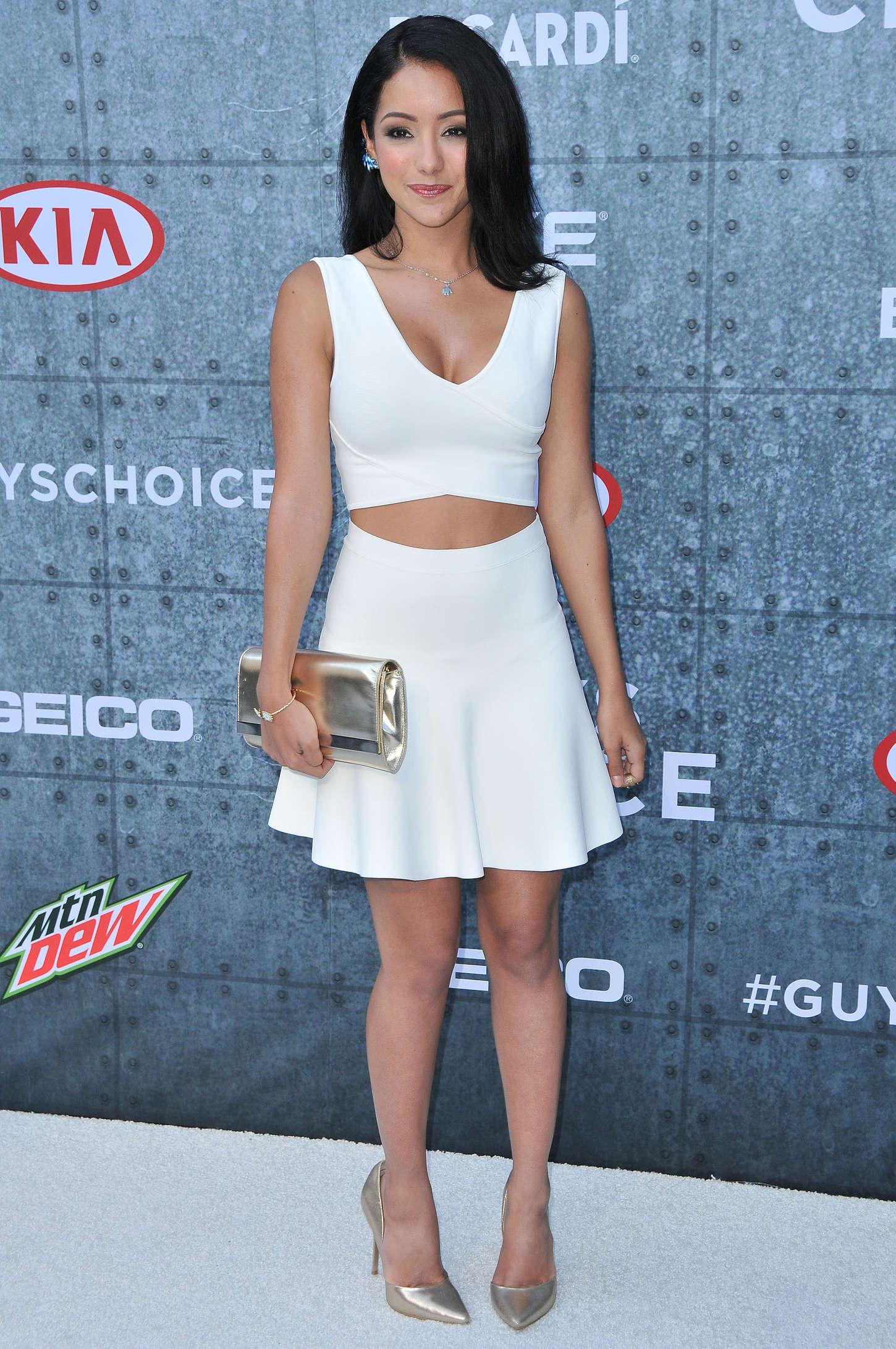 Melanie Iglesias 2015 : Melanie Iglesias: Spike TVs Guys Choice 2015 -25