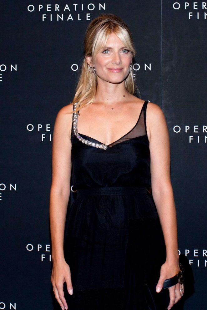 Melanie Laurent - 'Operation Finale' Premiere in New York
