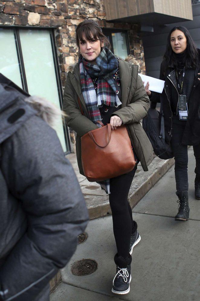 Melanie Lynskey out at 2017 Sundance Film Festival -01