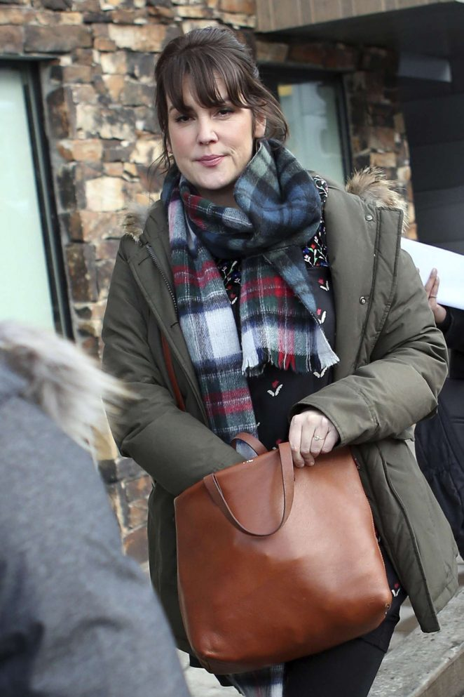 Melanie Lynskey out at 2017 Sundance Film Festival in Utah