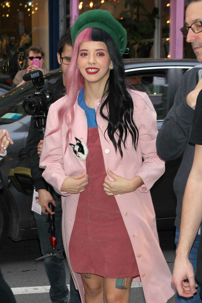Melanie Martinez out and about in NYC