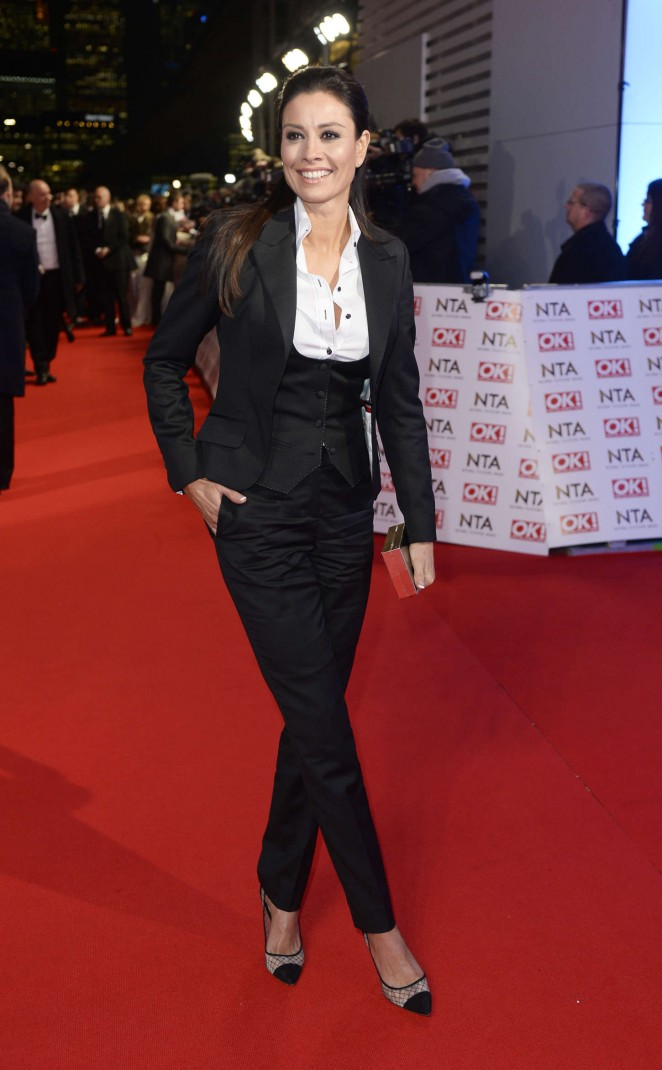 Melanie Sykes - 2015 National Television Awards in London