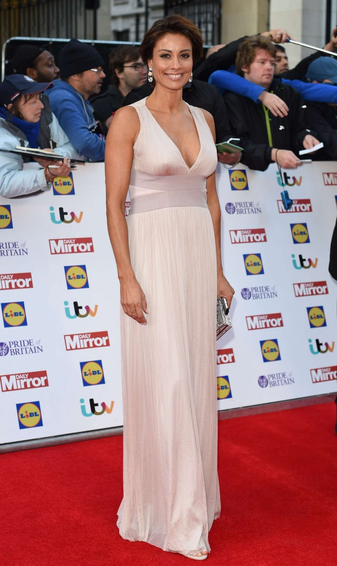 Melanie Sykes - 2015 Pride of Britain Awards in London