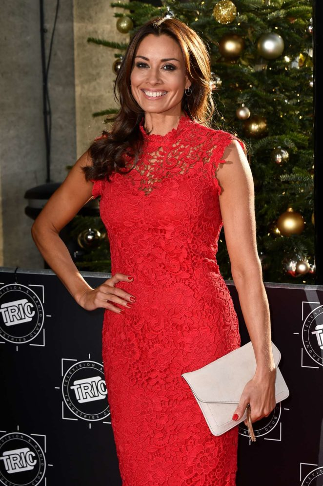Melanie Sykes - 2017 TRIC Awards Christmas Lunch in London