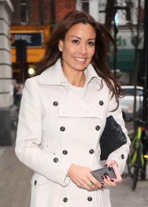 Melanie Sykes - Arrives at BBC Wogan House in London