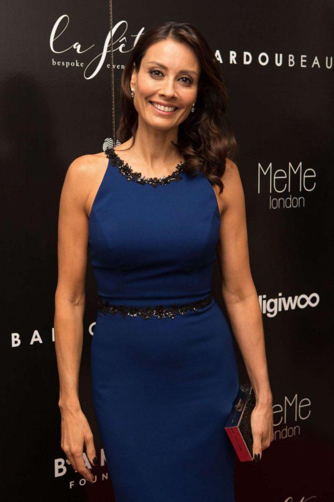 Melanie Sykes - Bardou Foundation Women's Day Gala in London