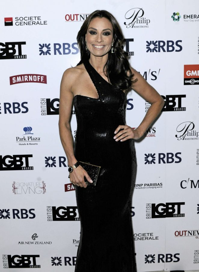 Melanie Sykes - British LGBT Awards 2016 in London