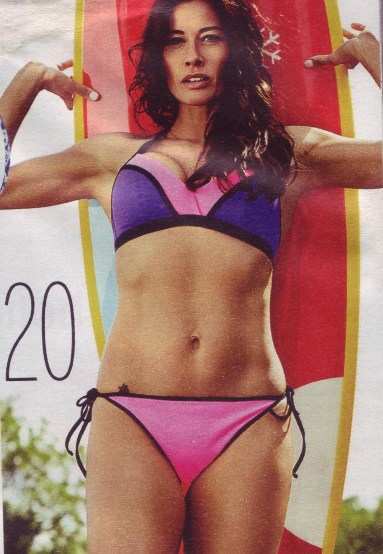 Calendar Of May And June : Melanie sykes fabulous magazine may