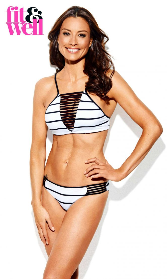 Melanie Sykes - Fit and Well Magazine (June 2017)