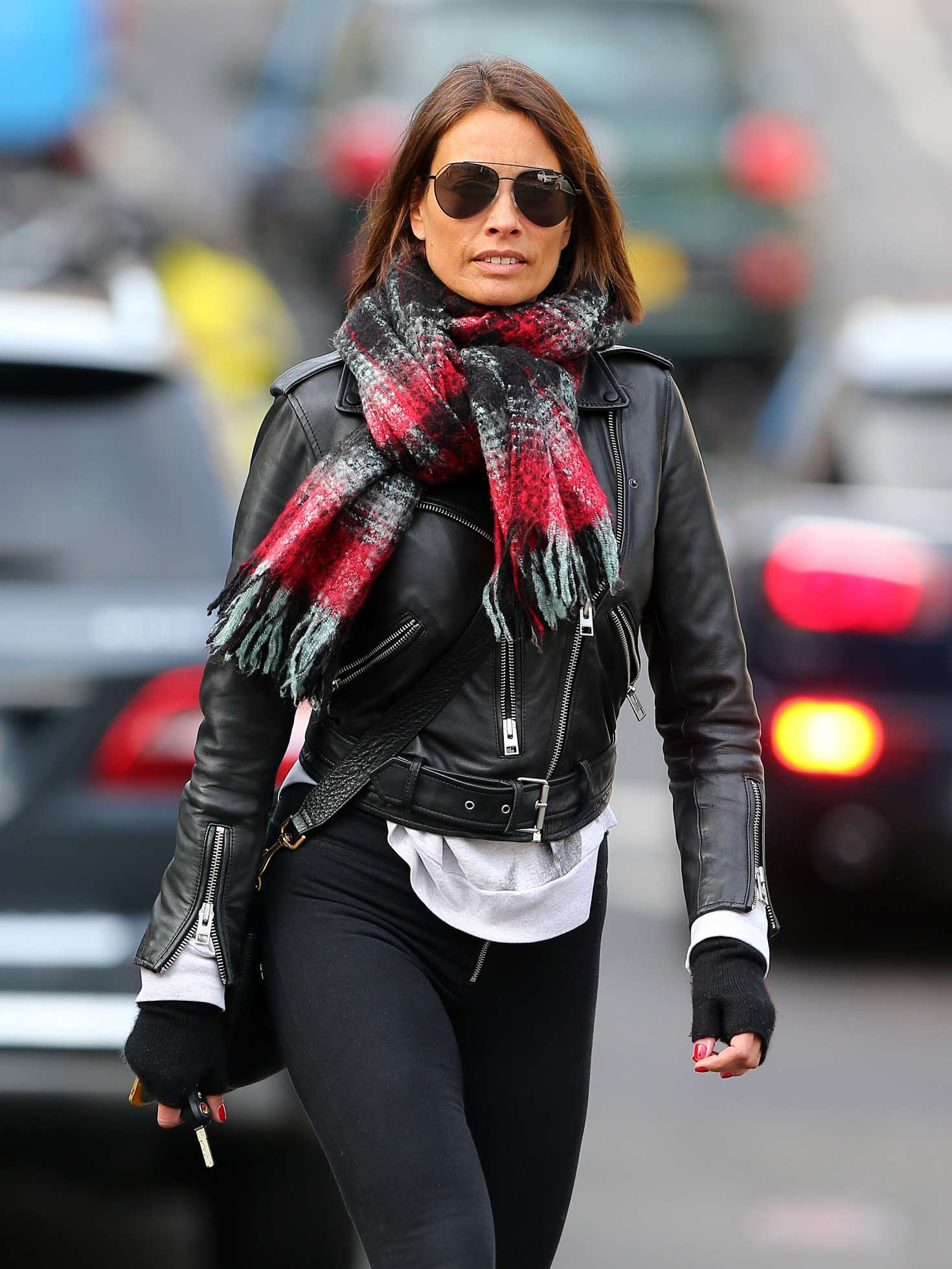 Melanie Sykes – Out and about in London