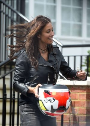 Melanie Sykes out in London