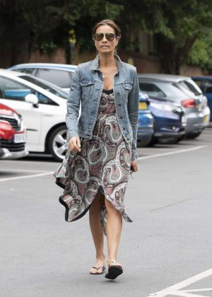 Melanie Sykes - Out in London