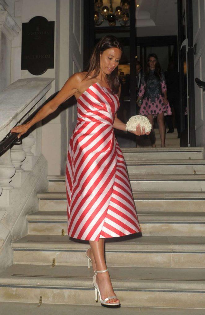 Melanie Sykes - Petra Stunt Foundation Fundraiser in London
