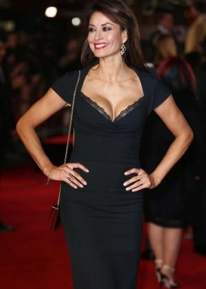 Melanie Sykes - Ronaldo Film Premiere in London