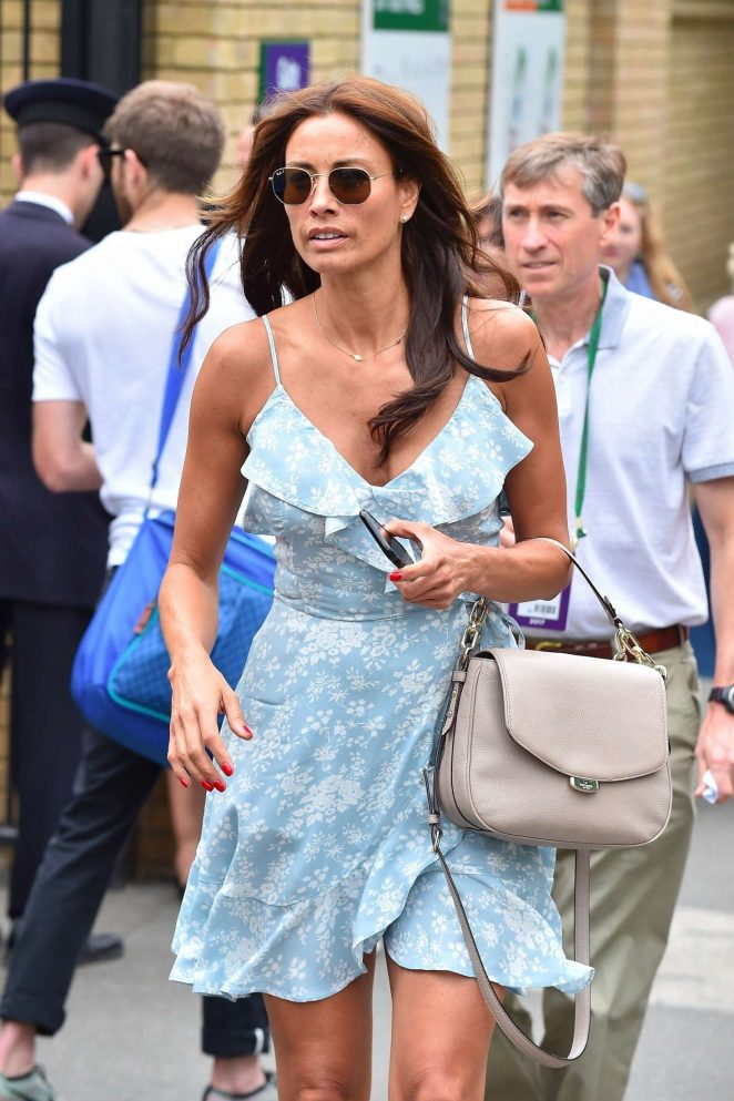 Melanie Sykes - Wimbledon Tennis Championships in London