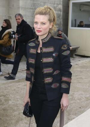 Melanie Thierry - Valentino Fashion Show 2016 in Paris
