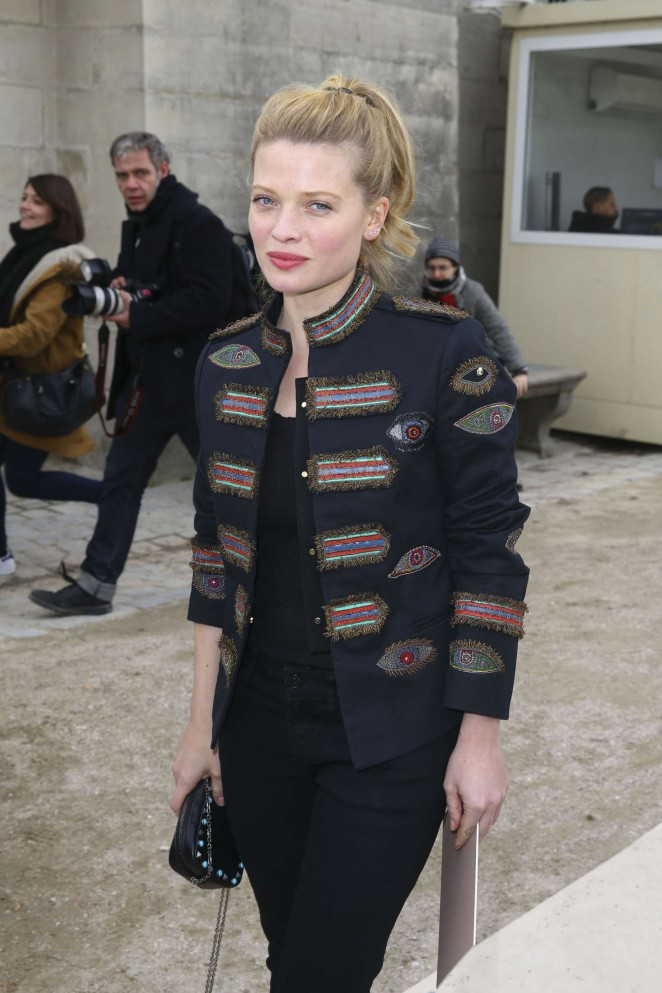 Melanie Thierry – Valentino Fashion Show 2016 in Paris