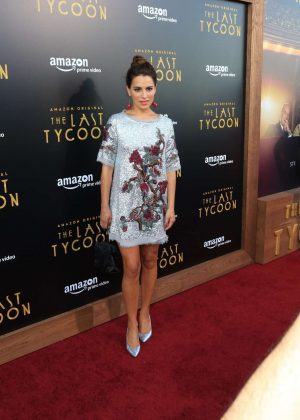 Melia Kreiling - 'The Last Tycoon' TV show Premiere in Los Angeles
