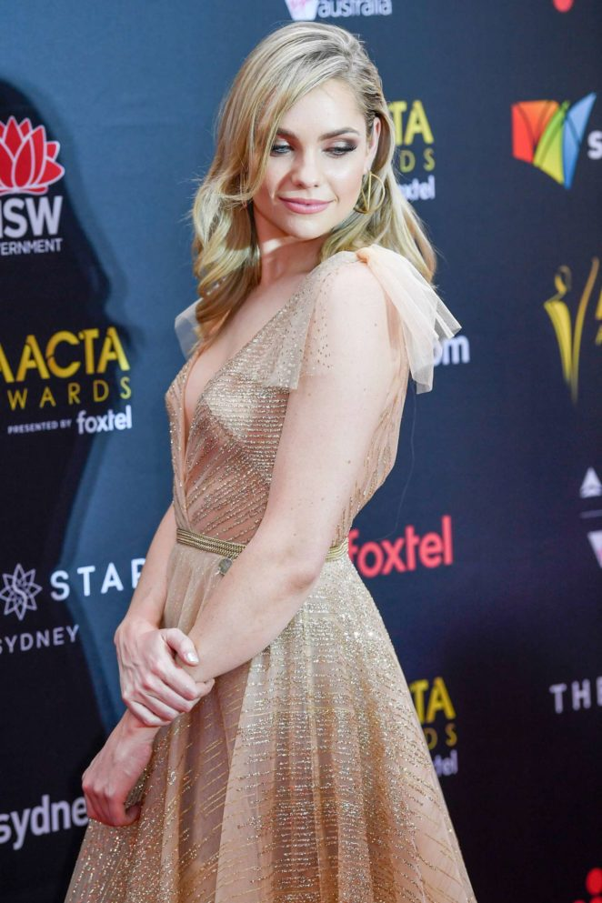 Melina Vidler – 2017 AACTA Awards in Sydney
