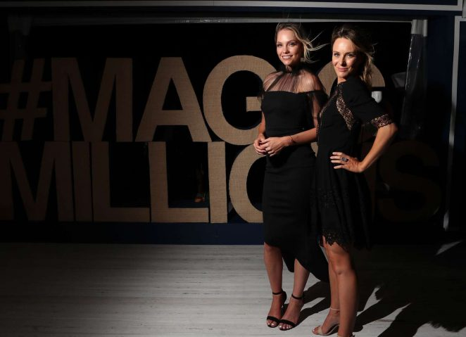 Melina Vidler and Emma Leonard – Magic Millions Launch Party in Queensland