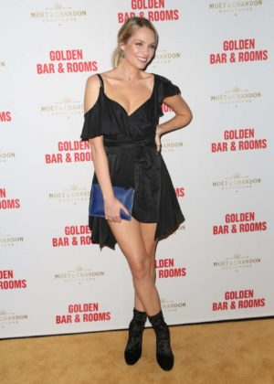 Melina Vidler - Double Bay Institution Launching The Golden Bar and Rooms in Sydney