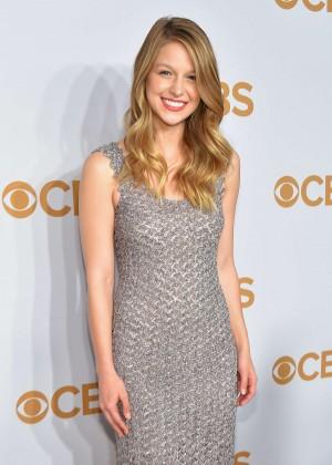 Melissa Benoist - 2015 CBS Upfront in NY