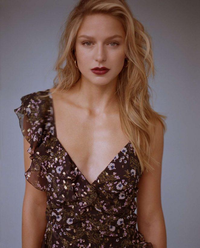 Melissa Benoist by Zachary Chick for W Magazine 2018