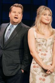 Melissa Benoist - On 'The Late Late Show With James Corden' in LA