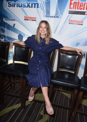Melissa Benoist - SiriusXM EW Radio Channel Broadcasts From San Diego Comic-Con