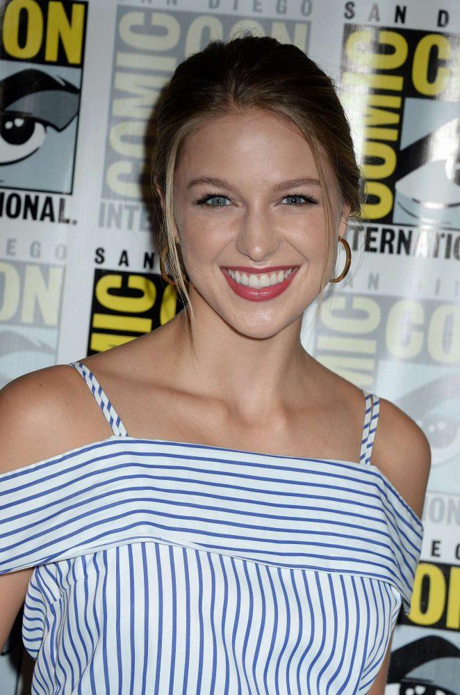 Melissa Benoist - 'Supergirl' Press Line at Comic-con 2016 in San Diego