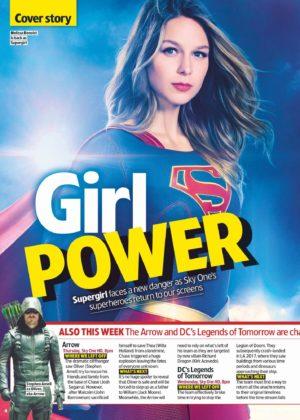 Melissa Benoist - TV & Satellite Week (October 2017)