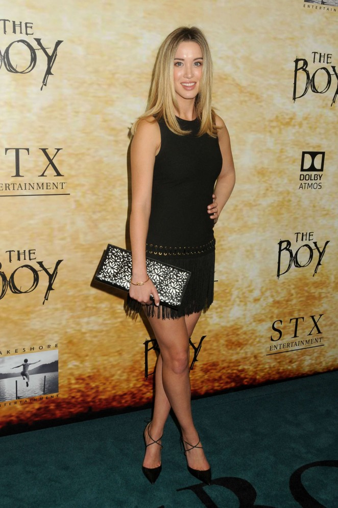 Melissa Bolona - 'The Boy' Premiere in Los Angeles