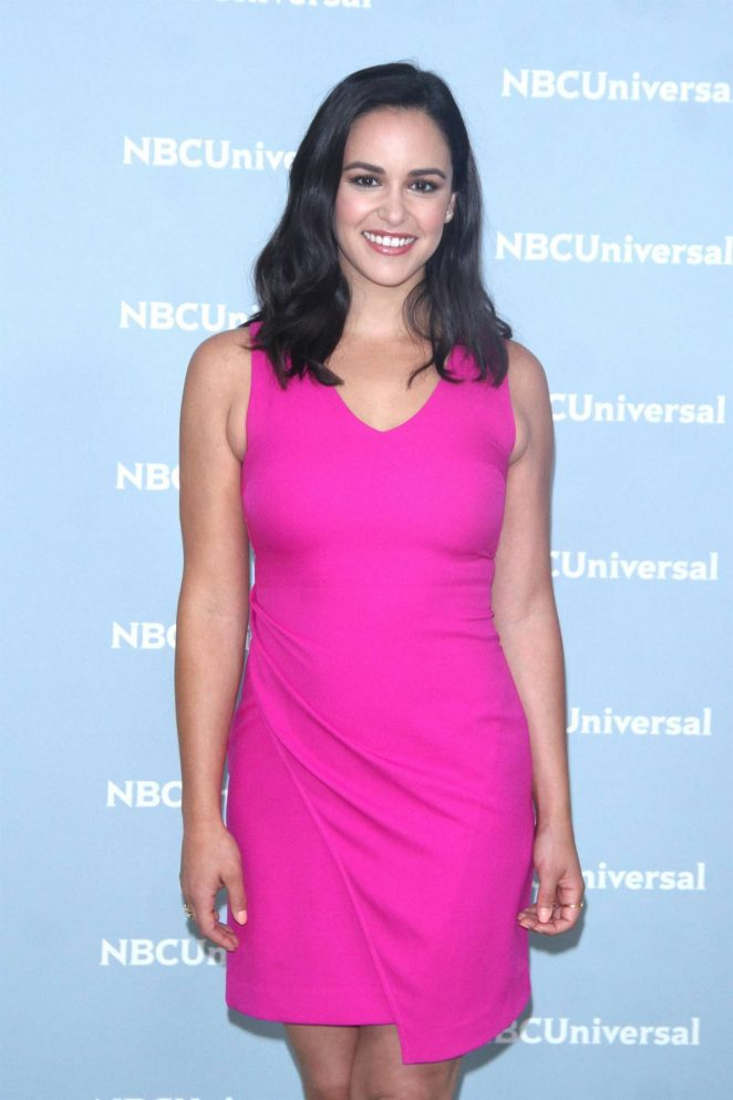 Melissa Fumero - 2018 NBCUniversal Upfront Presentation in NYC