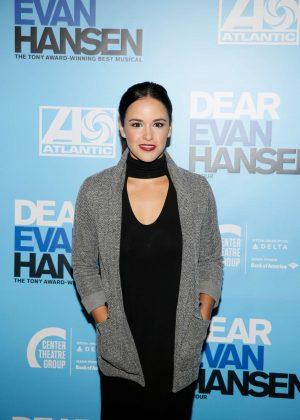 Melissa Fumero - 'Dear Evan Hansen' Center Theatre Group Ahmanson Theatre Opening in LA