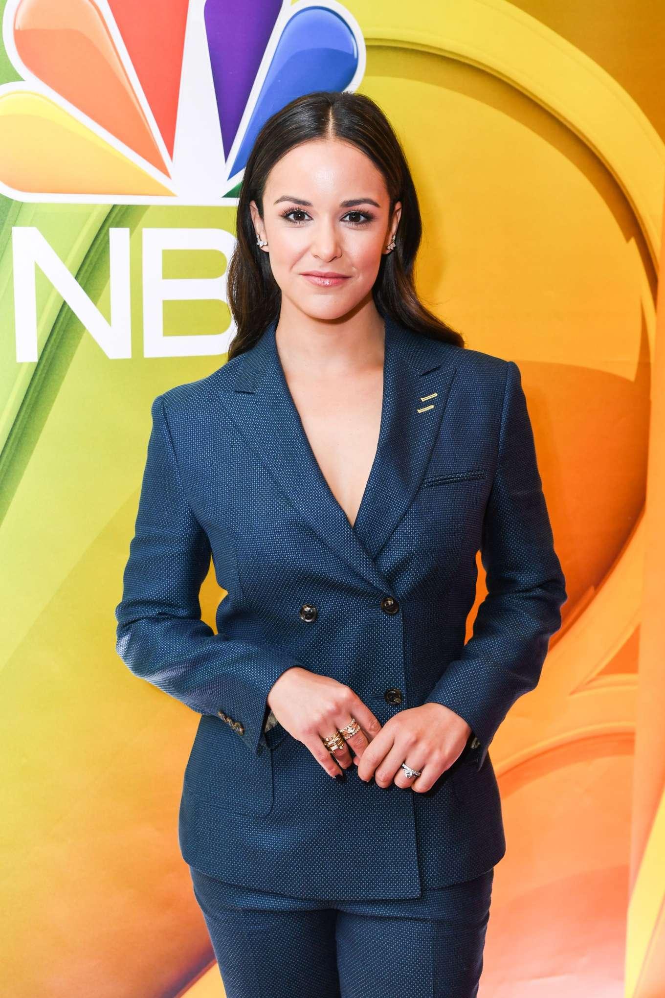 Melissa Fumero - NBCUniversal Upfront Presentation in NYC