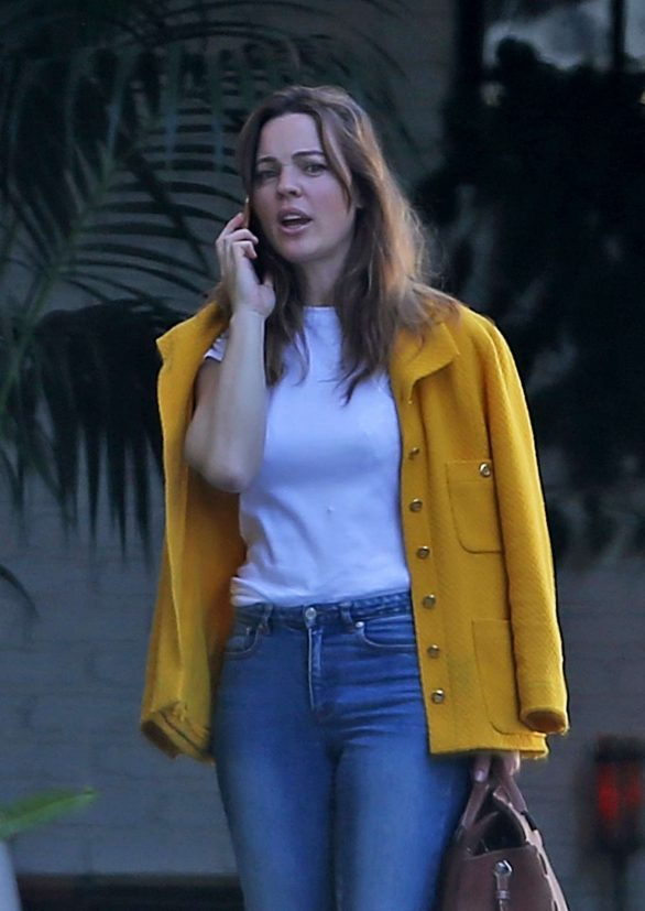 Melissa George at The Chateau Marmont in West Hollywood
