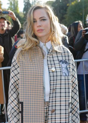 Melissa George - Hermes Fashion Show in Paris