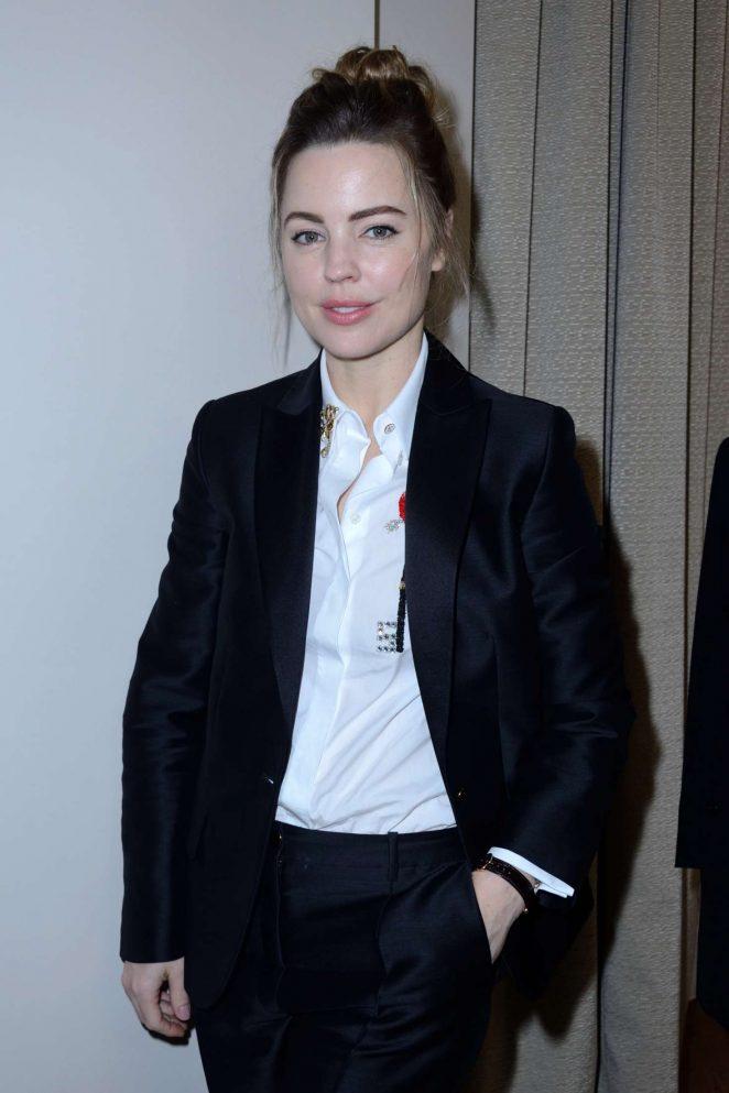 Melissa George – The Schiaparelli Haute Couture SS 2018 Show in Paris