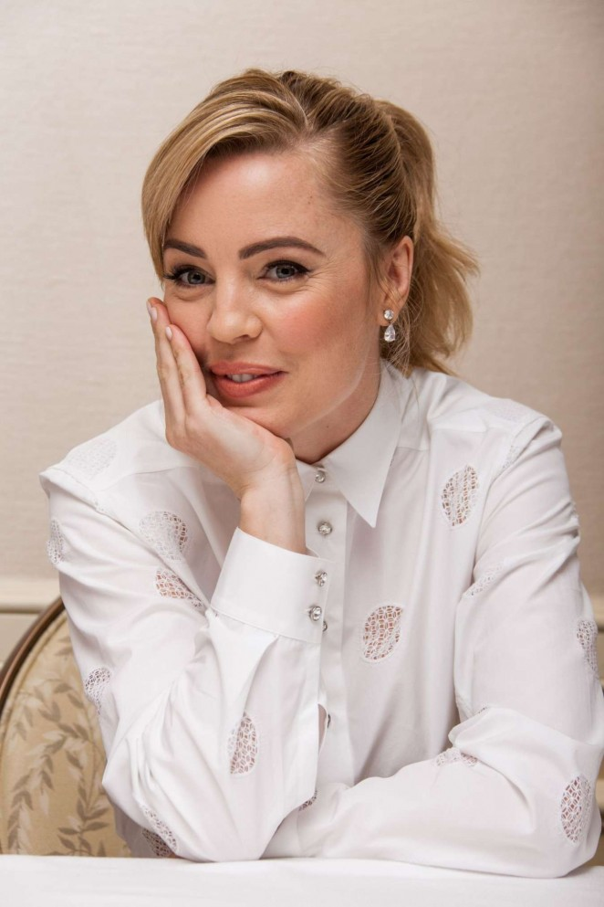 "Melissa George - ""The Slap"" Press Conference Portraits in Los Angeles"