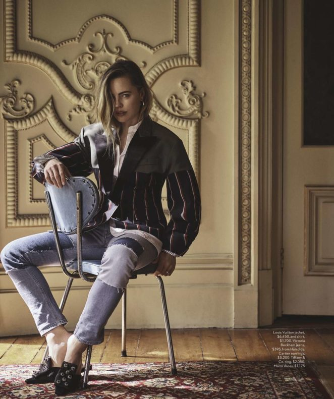 Melissa George – Vogue Australia Magazine (January 2018)