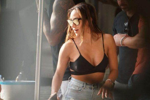 Melissa Gorga at a Pool Party in Miami