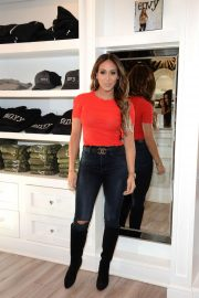 Melissa Gorga at a Small Business Saturday Shopping Event in Montclair